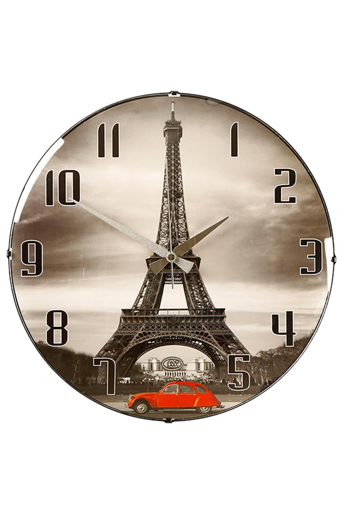 Dünya Desen Bombe Duvar Saati