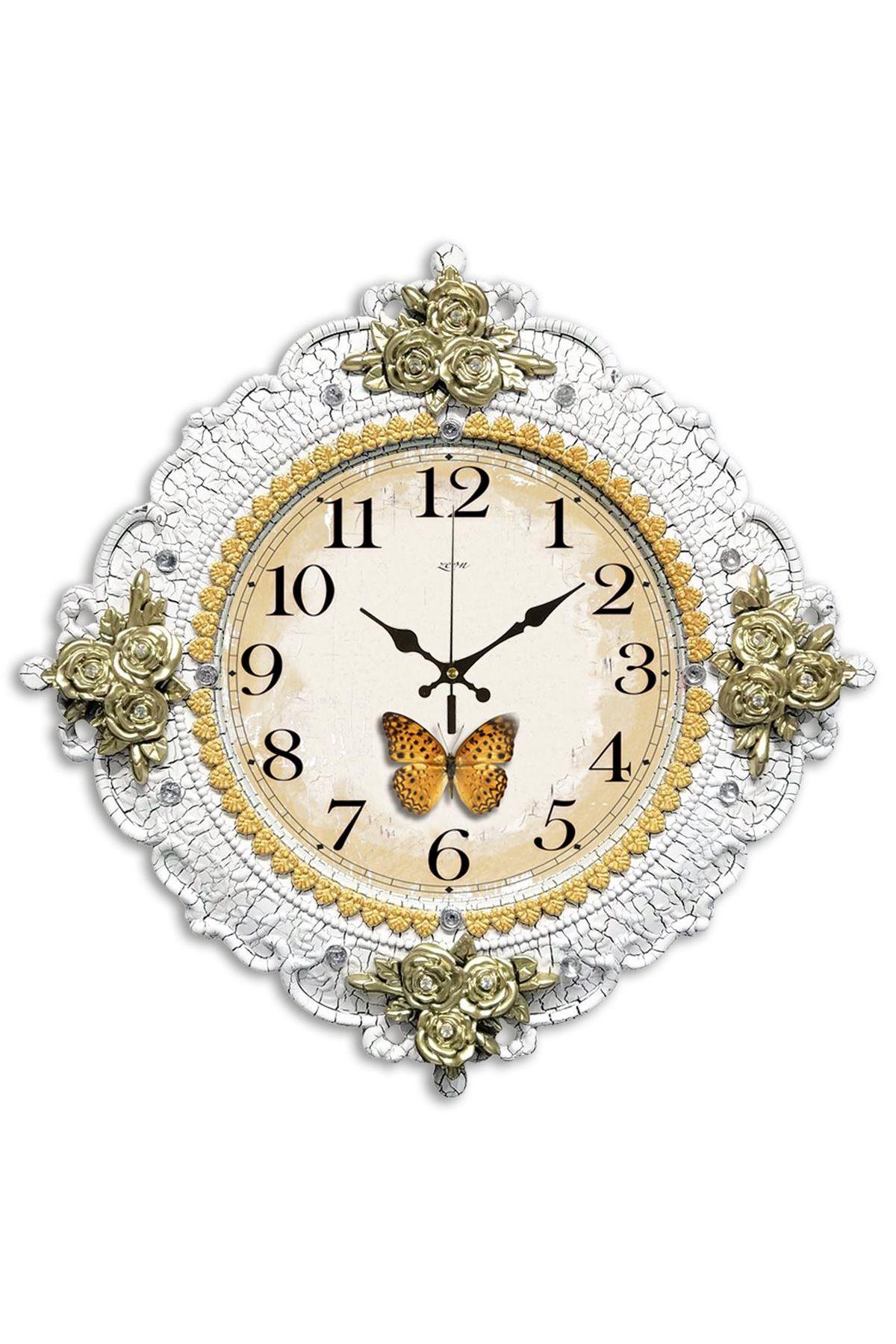Rikon Butterfly Dekoratif Duvar Saati 48X48 Cm