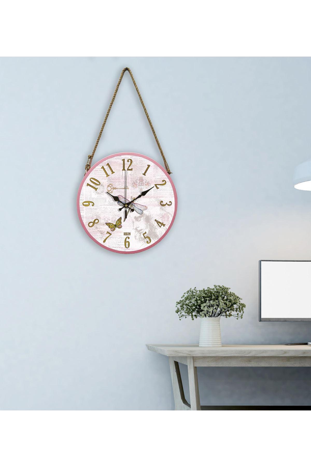 Rikon Halatlı Dekoratif Duvar Saati Yusufcuk 60X31 Cm