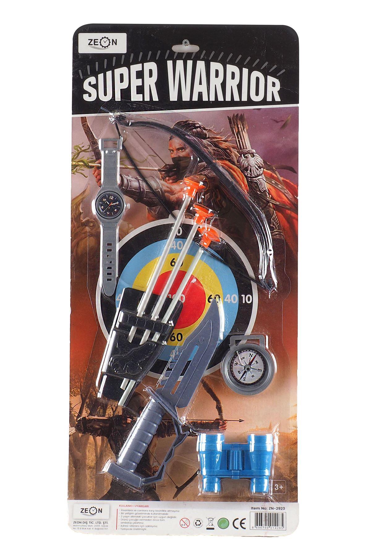 Super Warrior Dürbünlü Savaşcı Seti 9 Parça